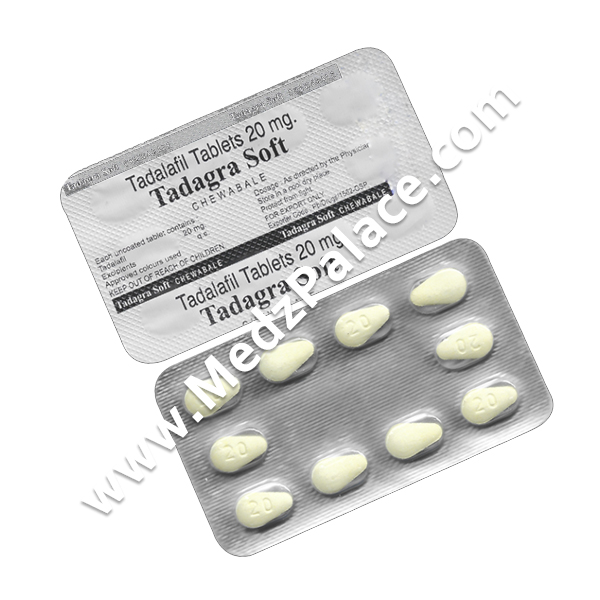 Tadagra Soft Chewable 20 mg